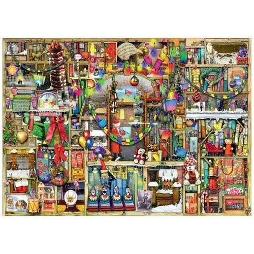 Ravensburger - Christmas Cupboard 1000-piece Puzzle