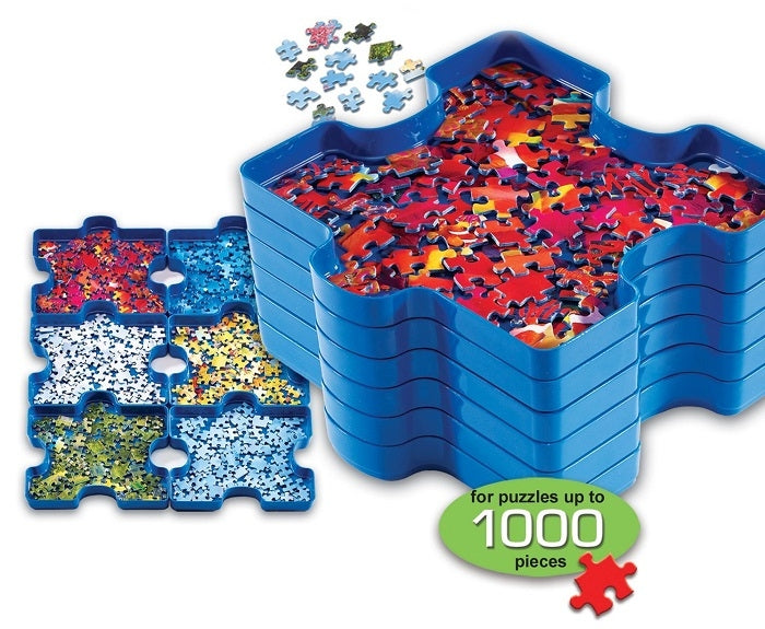 Ravensburger Six Puzzle Sorting Trays