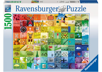 Ravensburger – 99 Beautiful Colours 1500-piece Puzzle Boxed
