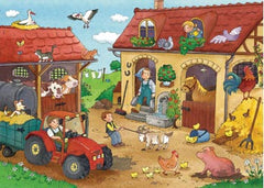 Ravensburger Working on the Farm 2x12-piece Puzzle House