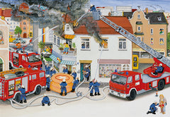 Ravensburger Busy Fire Brigade 2 x 24 Piece Puzzle 2