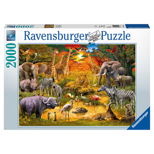 Ravensburger Gathering at the Waterhole 2000 Piece Puzzle
