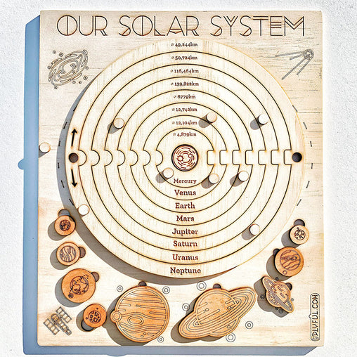 Plyful Our Solar System Interactive Puzzle