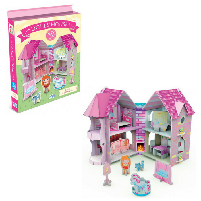 Sassi Junior - 3D Dolls' House and Book 3