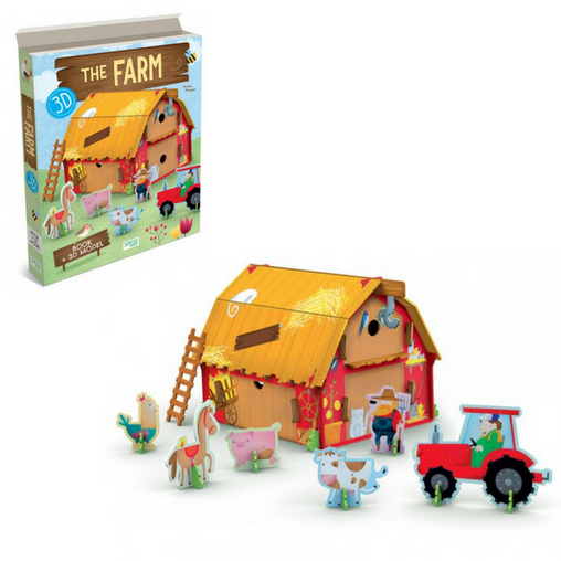 Sassi Junior - 3D Farm and Book 3