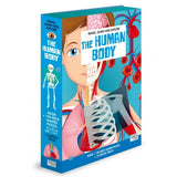 The Human Body Book and 200 Piece Puzzle