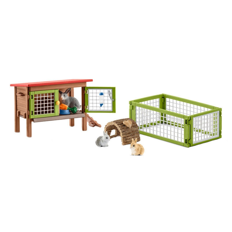 Schleich –  Farm Life Rabbit Hatch 42420