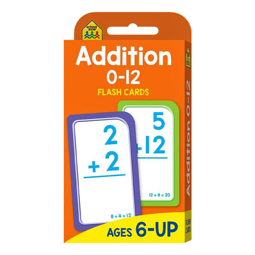 Write & Wipe Flash Cards Addition 0 - 12 with Marker
