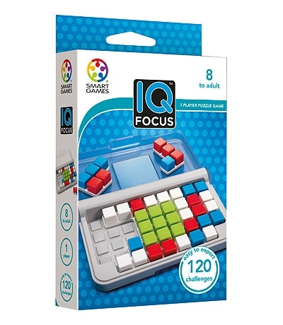 Smart Games - IQ Focus Puzzler Single Player Multi Level Logic Puzzle Challenge 2