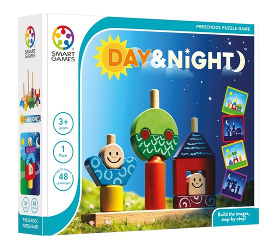 Smart Games - Day and Night Single Player Multi Level Logic Puzzle Challenge