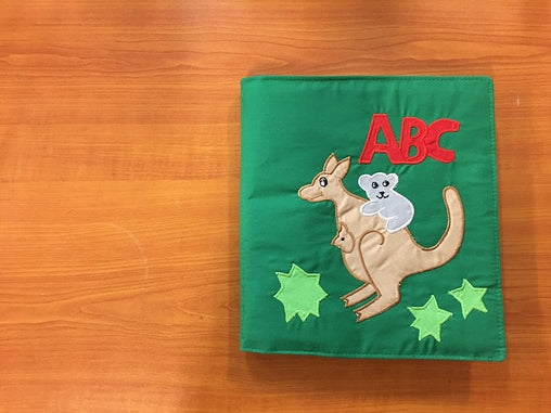 Soft Book - ABC Book with Australian Animals