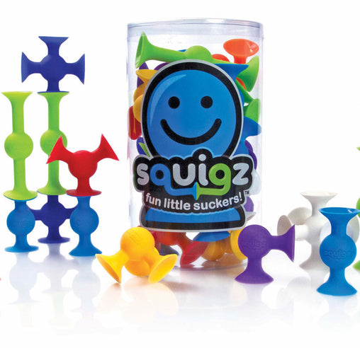 Fat Brain Toy Co Squigz 24 Construction Starter