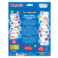 Fiesta Crafts Magnetic Star Chart Back Packaging