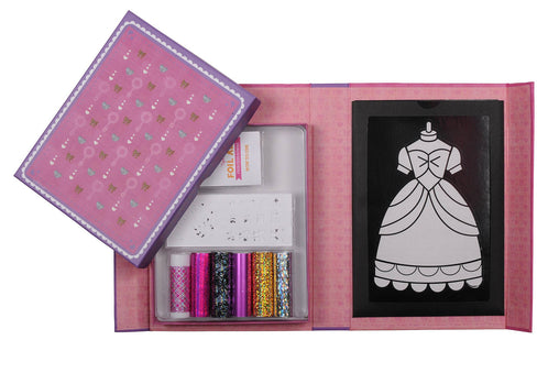 Tiger Tribe Princess Gowns Foil Art Craft Kit
