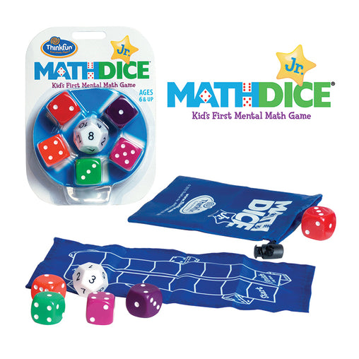 Thinkfun Math Dice Jr Game