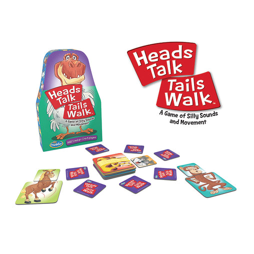 Thinkfun Heads Talk Tails Walk Game