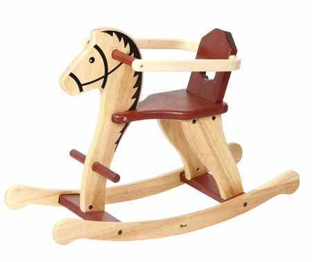 Rocking Horse with Guard