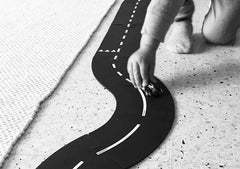 Way To Play Curves Rubber Road Extension Set Track