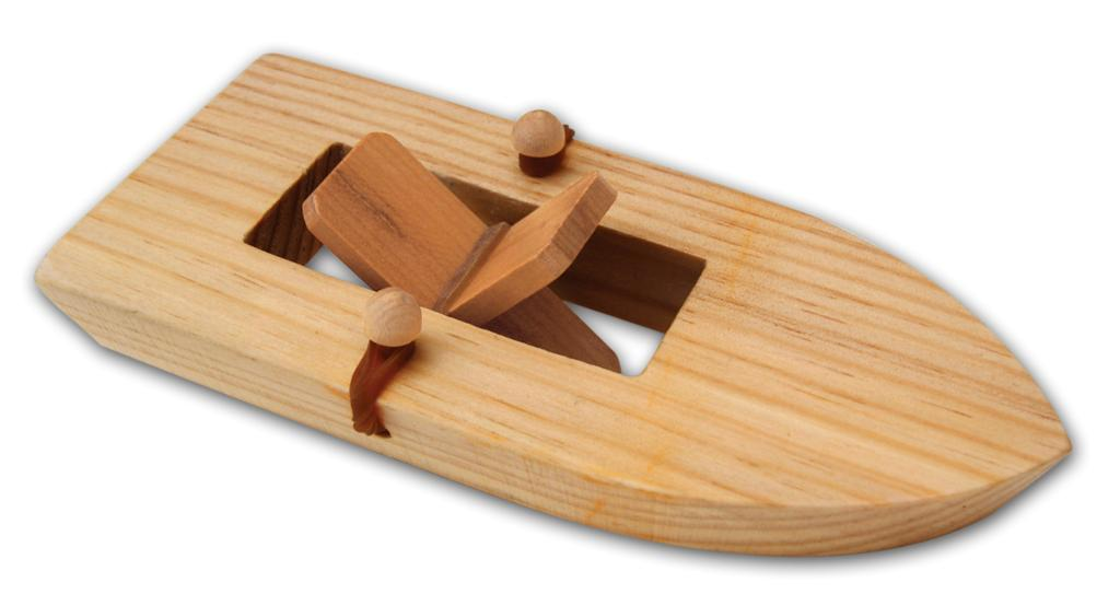 Classic Toy Rubber Band Boat