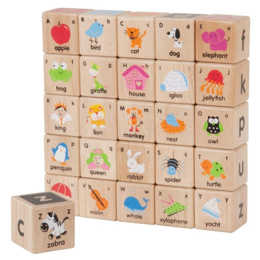 Wonderworld - Wooden ABC Blocks