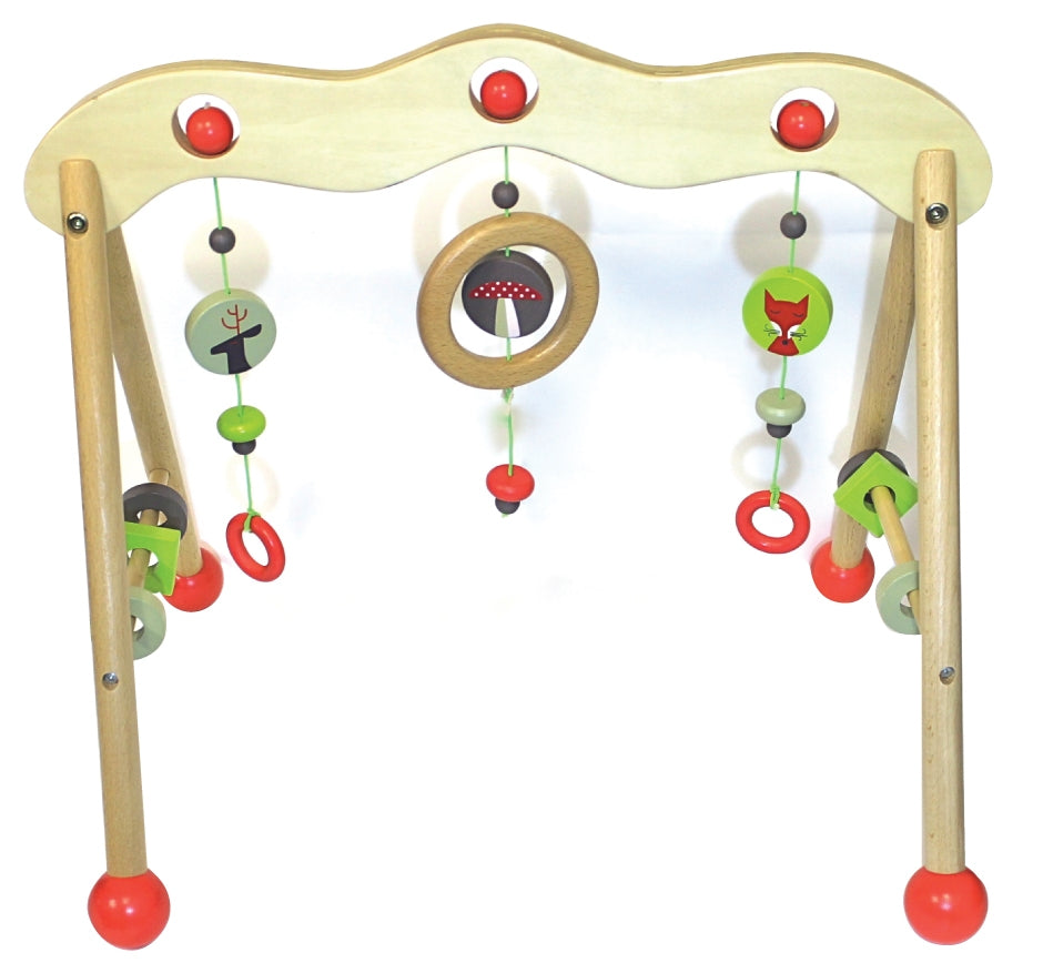 Discoveroo - Wooden Woodland Baby Play Gym