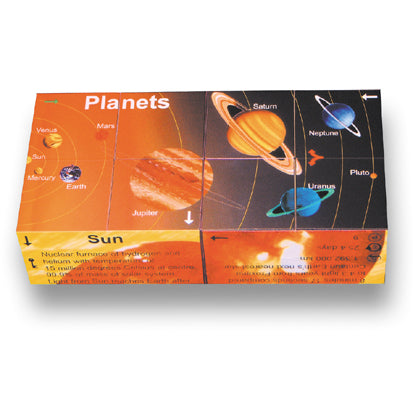 Zoobookoo Cube Book Planets