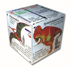 Zoobookoo Cube Book - Dinosaurs 2