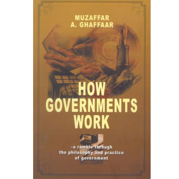 Order your copy of How Governments Work published by Ferozsons from Urdu Book to get a huge discount along with  Shipping and chance to win  books in the book fair and Urdu bazar online.