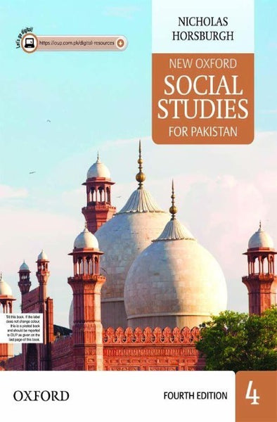 Order your copy of New Oxford Social Studies for Pakistan Book 4 with Digital Content published by Oxford University Press from Urdu Book to get discount along with surprise gifts and chance to win books in Pak book fair.