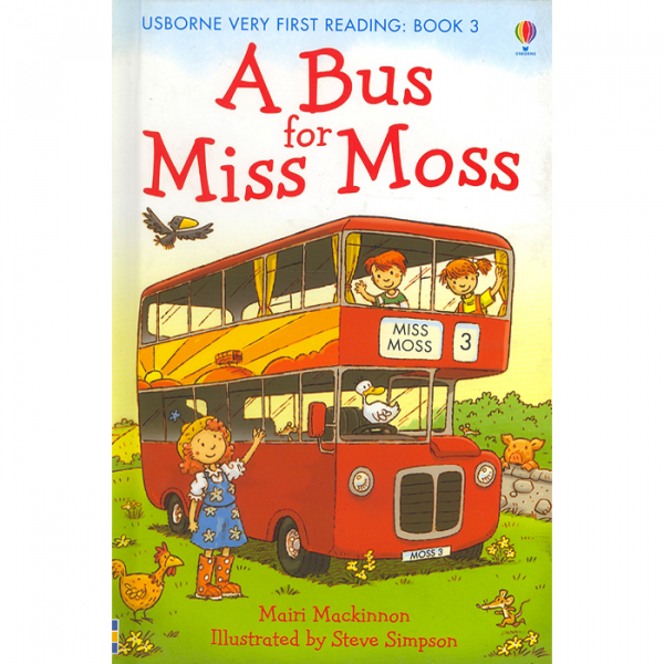 Order your copy of A Bus For Miss Moss :Very First Reading Book 3 published by Ferozsons from Urdu Book to get a huge discount along with  Shipping and chance to win  books in the book fair and Urdu bazar online.