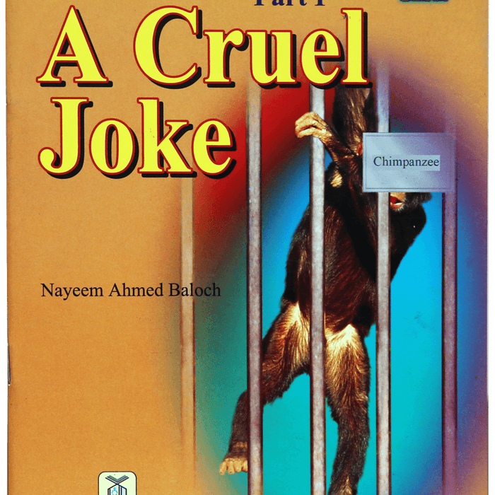 Order your copy of A Cruel Joke published by Darussalam Publishers from Urdu Book to get a huge discount along with  Shipping and a chance to win  books in the book fair and Urdu bazar online.