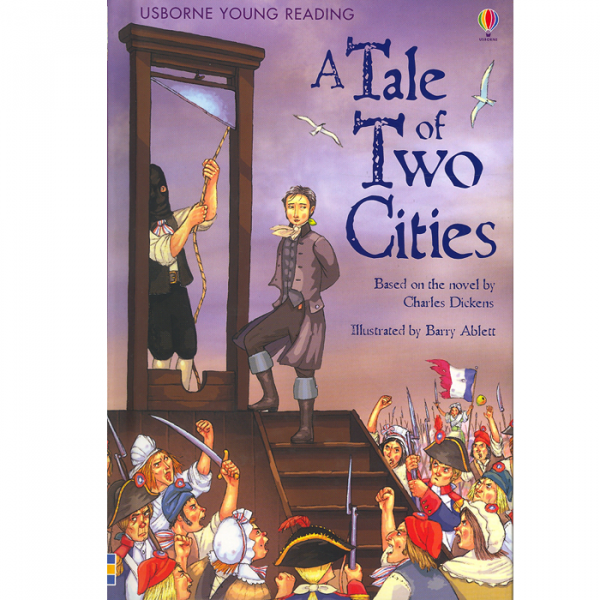 Order your copy of A Tale Of Two Cities:Young Reading Series 3 published by Ferozsons from Urdu Book to get a huge discount along with FREE Shipping and chance to win free books in the book fair and Urdu bazar online.