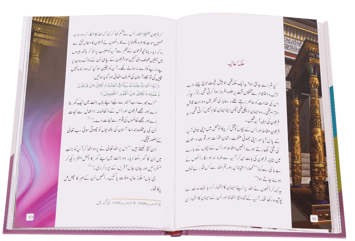 Order your copy of Malka-e-Aliya ملکہ عالیہ  published by Darussalam Publishers from Urdu Book to get a huge discount along with FREE Shipping and a chance to win free books in the book fair and Urdu bazar online.