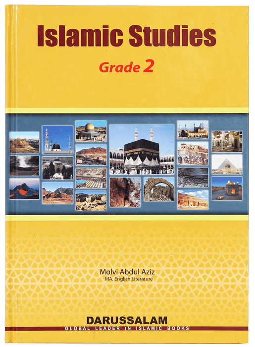 Order your copy of Islamic Studies Grade (vol 2, SC) published by Darussalam Publishers from Urdu Book to get a huge discount along with  Shipping and a chance to win  books in the book fair and Urdu bazar online.