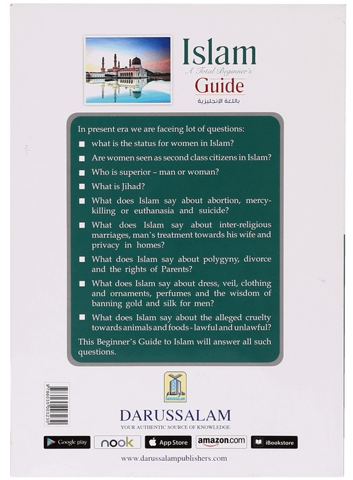 Order your copy of Islam A Total Beginners Guide (3) published by Darussalam Publishers from Urdu Book to get a huge discount along with  Shipping and a chance to win  books in the book fair and Urdu bazar online.