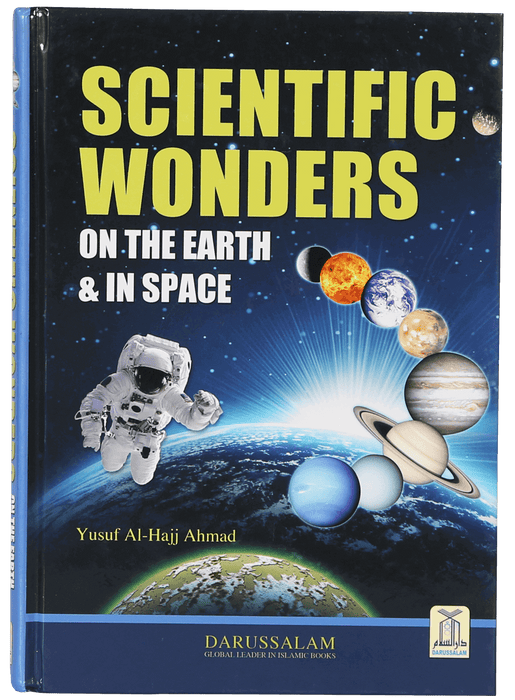 Order your copy of Scientific Wonders on Earth and in Space published by Darussalam Publishers from Urdu Book to get a huge discount along with  Shipping and a chance to win  books in the book fair and Urdu bazar online.