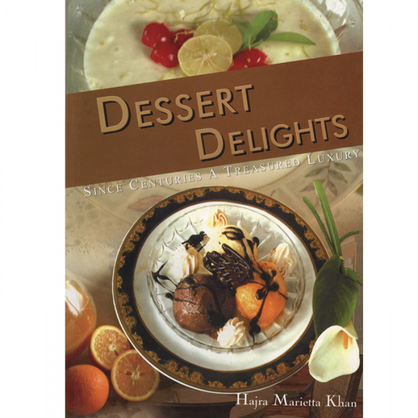 Order your copy of DESSERT DELIGHTS published by Ferozsons from Urdu Book to get a huge discount along with  Shipping and chance to win  books in the book fair and Urdu bazar online.
