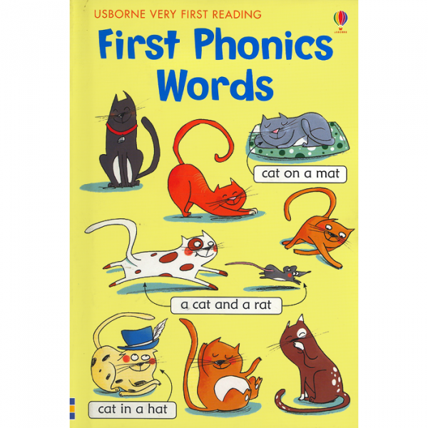 Order your copy of First Phonics Words:Very First Reading published by Ferozsons from Urdu Book to get a huge discount along with  Shipping and chance to win  books in the book fair and Urdu bazar online.