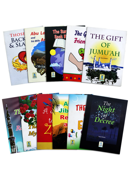 Order your copy Kids Book Set 1 of published by Darussalam Publishers from Urdu Book to get a huge discount along with  Shipping and a chance to win  books in the book fair and Urdu bazar online.