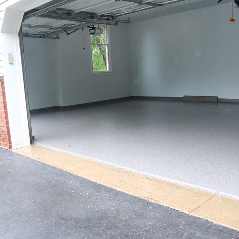Garage Floor Coating with Poloyaspartic