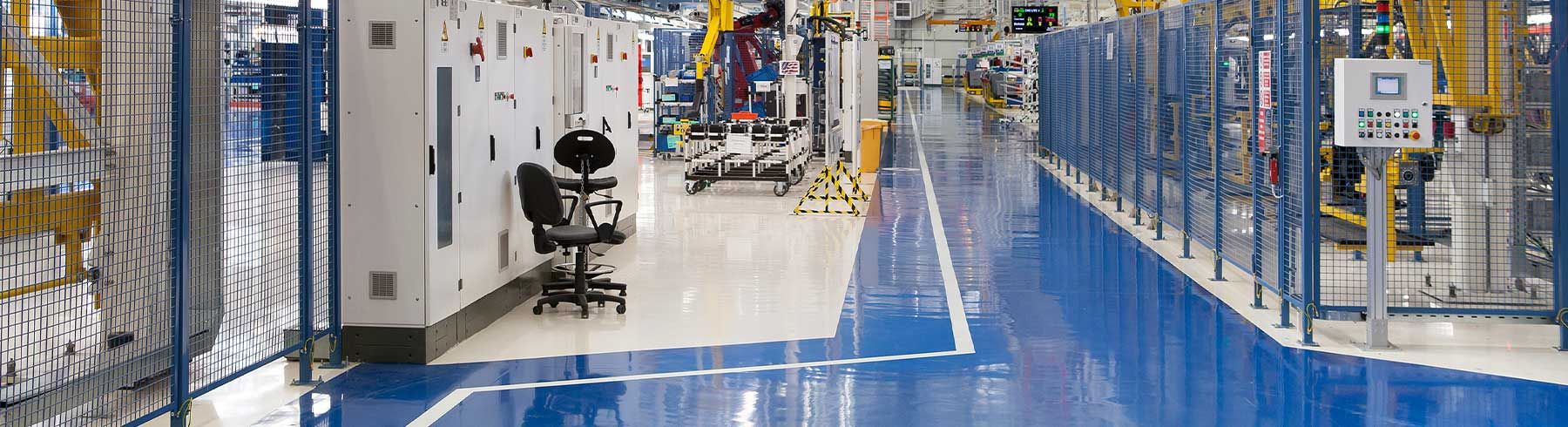 manufacturing facility floor coating