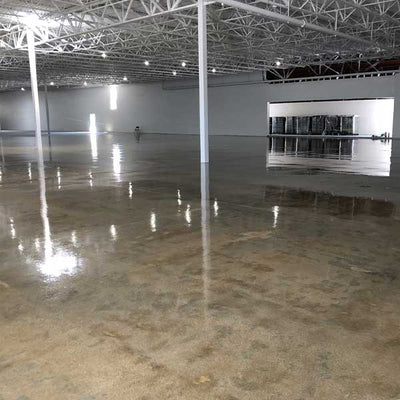 100% Solids Epoxy Primer on Concrete