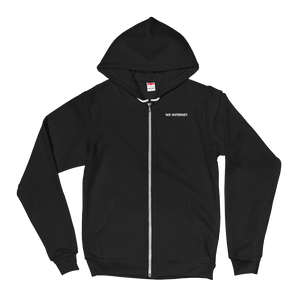 Official We the Internet TV Zip-up Hoodie