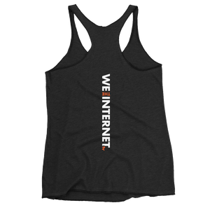 Official We the Internet TV Women's Racerback Tank