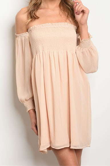Off The Shoulder Brittany Dress - AcousticLiving