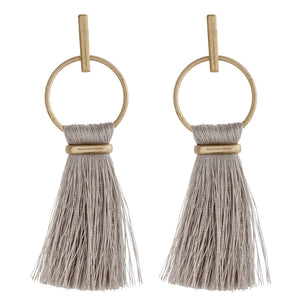 Grey Haylee Earrings - AcousticLiving