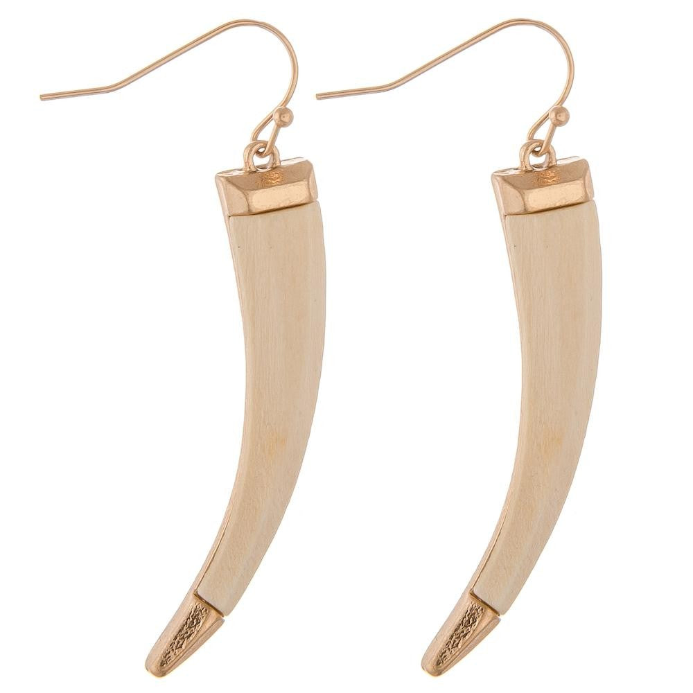 Horn Drop Earrings - AcousticLiving