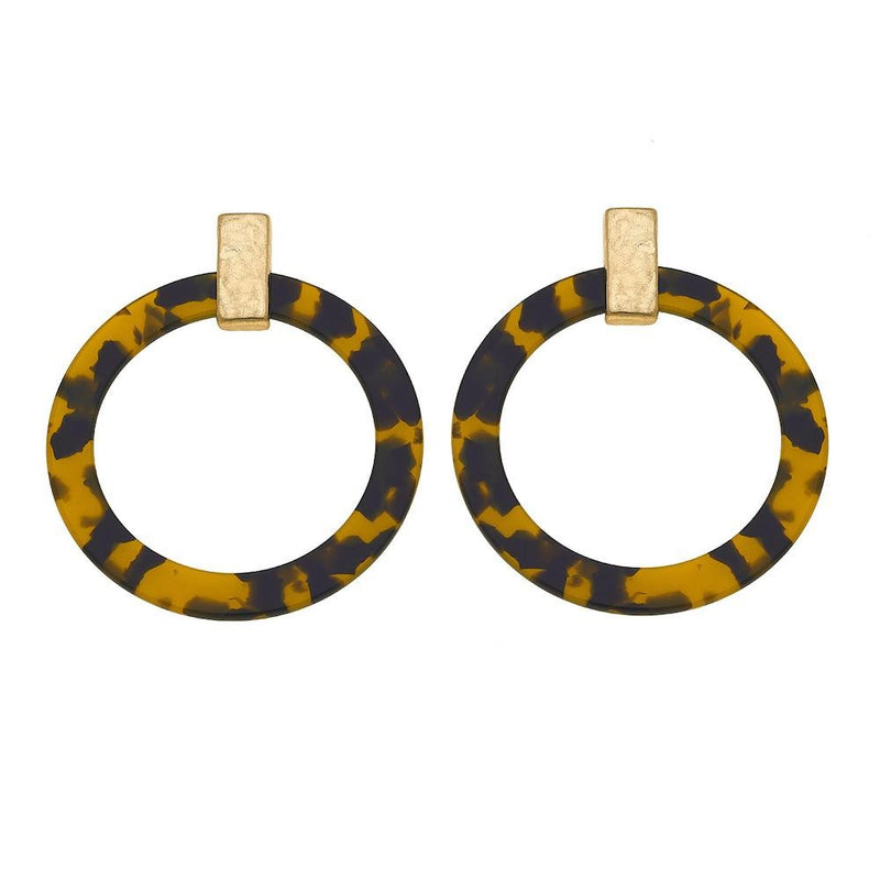 Tortoise Hoops - Acoustic Living Boutique