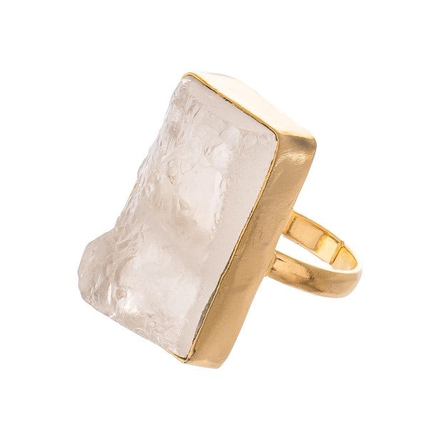 Brittany Gold Ring - Acoustic Living Boutique