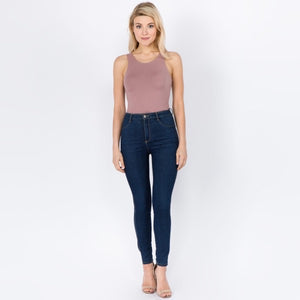 Toni Bodysuit - Mauve - AcousticLiving